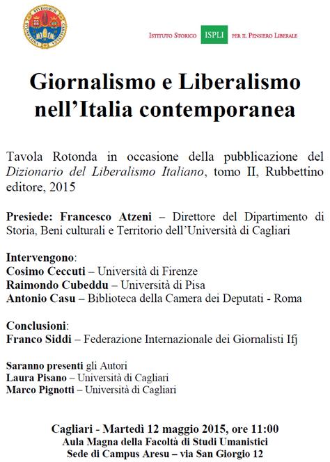 presentazione Cagliari, 12 maggio 2015