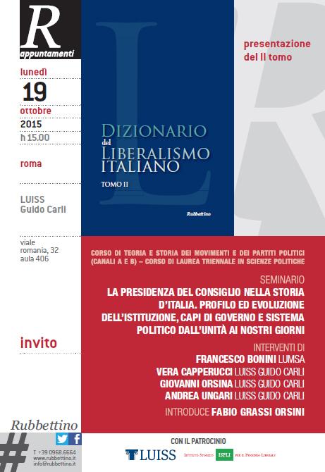 presentazione Dizionario, 19 Ottobre 2015